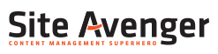 Site Avenger - Content Management Superhero
